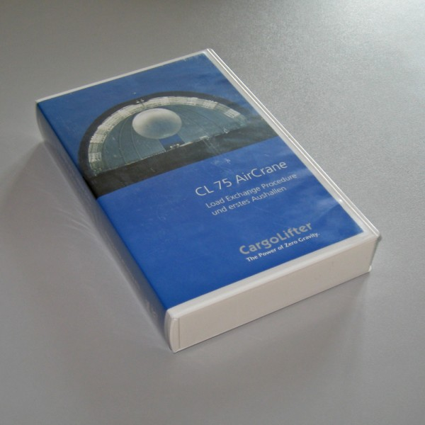 CL 75 AirCrane - VHS-Video für Sammler!