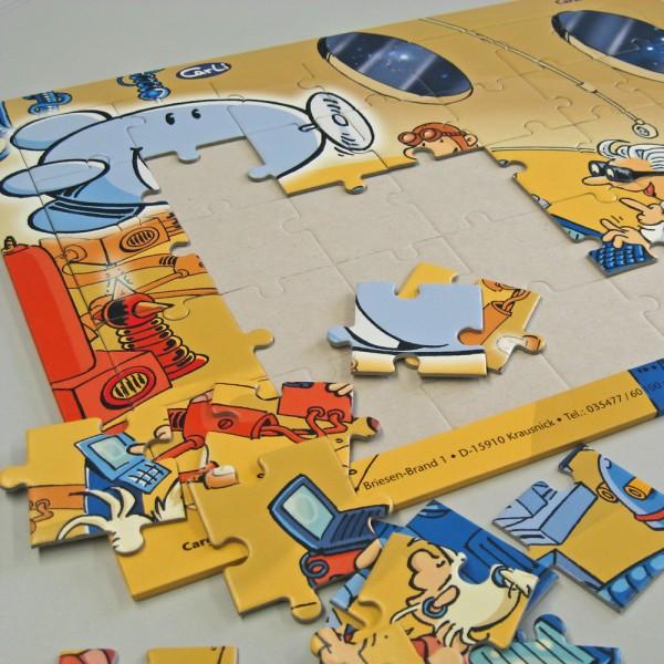 Puzzle Carli und seine Freunde